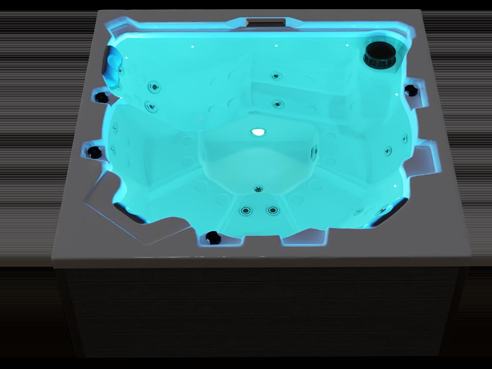 Beleuchteter Whirlpool