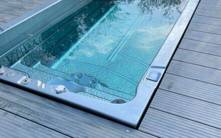 Swim Spa im Garten